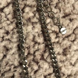 Ruby Rd. Jewelry - Ruby Rd silver bulky necklace